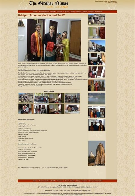 286 Best Dimira Infotech Images On Pinterest Event Management Udaipur And Goa India Guest House Website Templates Free