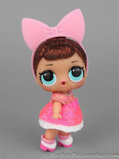 Lol L O L Doll Pink Baby sunday l o l glitter series and pets the
