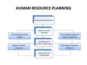 human resource plan template for project managers human resource management ppt