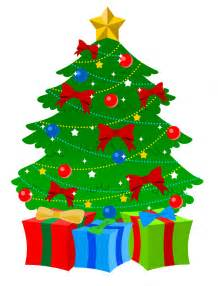 free colorful christmas tree clip art