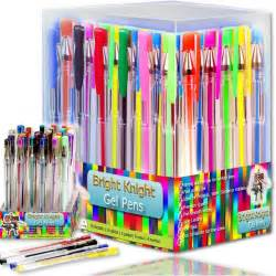 best colored pens gel pen set ink ballpoint pens smooth neon pastel