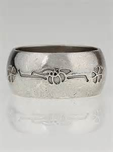 bvlgari sterling silver save the children ring size 7 75