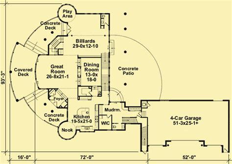 Small Concrete House Plans Unique Luxury Home Plans With A Wrap Around Deck
