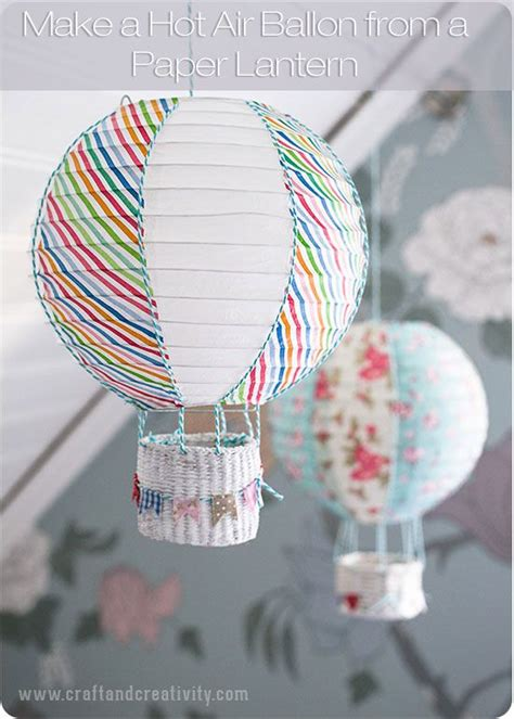 How To Make A Paper Balloon - how to make a air balloon to fly in your house