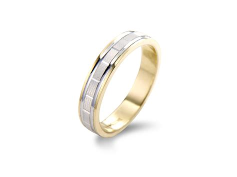 Two Wedding Rings by Two Colour Wedding Rings