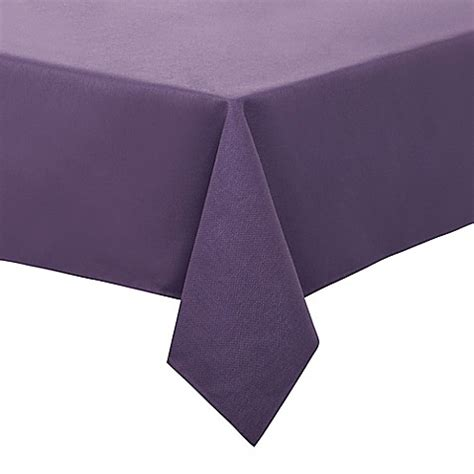 52 square table cloths buy basketweave 52 inch square tablecloth in purple from