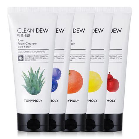 New Dew Foam Cleanser 180ml Acerola tonymoly clean dew foam cleanser 180ml