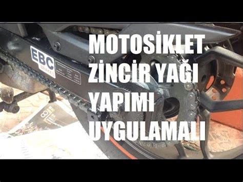 motosiklet zincir yagi yapimi uygulamali youtube