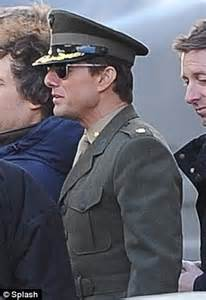 tom cruise upcoming film tom cruise wears military attire as he returns to filming