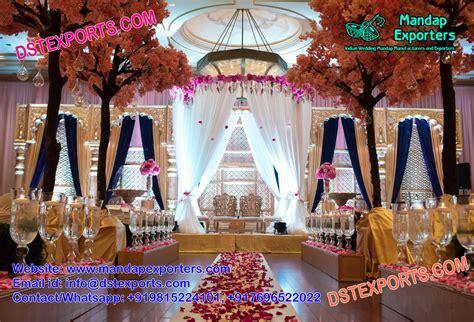Latest Designed Asian Wedding Stage Decor ? Mandap Exporters