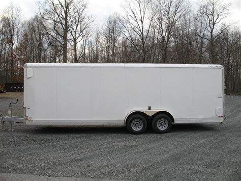 cargo enclosed landscape cargo enclosed trailer