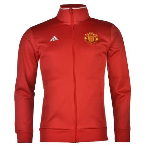 Jacket Zipper Manchester City Gradasi Merah adidas manchester united zip track jacket mens football soccer tracksuit top ebay