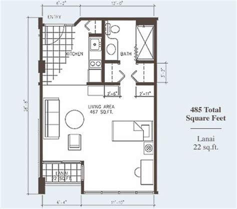 One Bedroom Apartment With Garage Studio Apartment Design Studio Apartments Plans