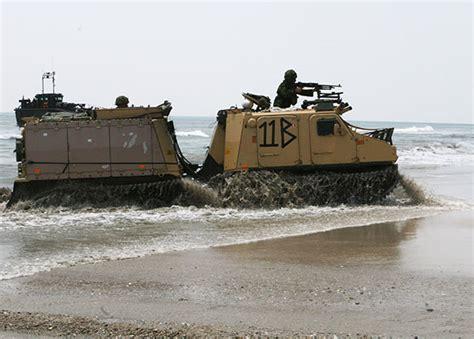 hibious vehicle marines viking royal marines