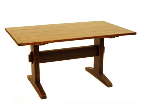 how to build a trestle table how to build a large trestle table home decorations