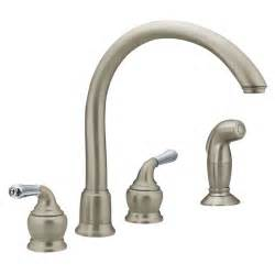 repair a moen kitchen faucet faucet 7786 in chrome by moen