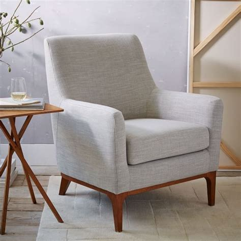 bench chairs for living room sloan upholstered chair west elm 31 5 quot w x 35 5 quot d x 39 quot h chairs pinterest grey fabrics