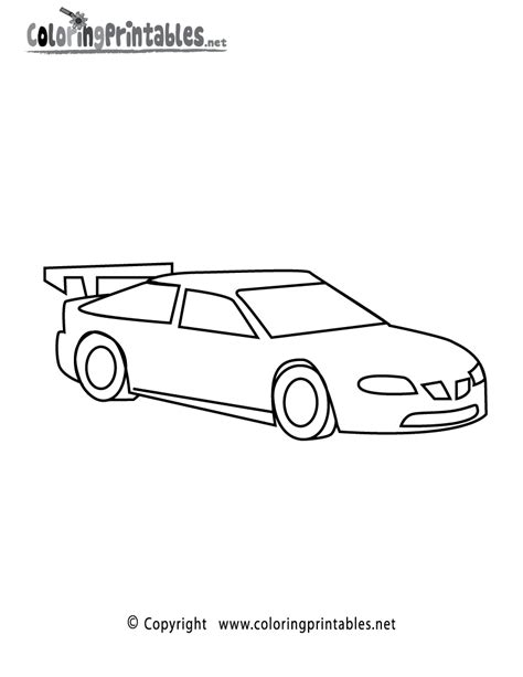 racing car template drag race car coloring pages