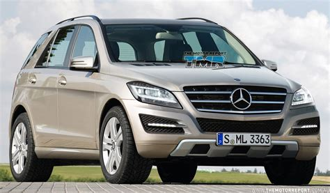 our class s t e m class 2 0 2012 mercedes benz m class revealed in leaked images