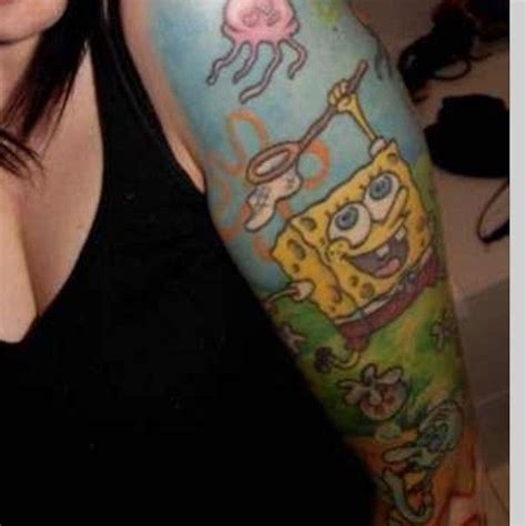 spongebob tattoo designs spongebob tattoos designs designs