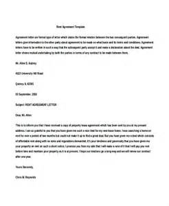 House Share Agreement Template rental agreement letter 8 word pdf documents download