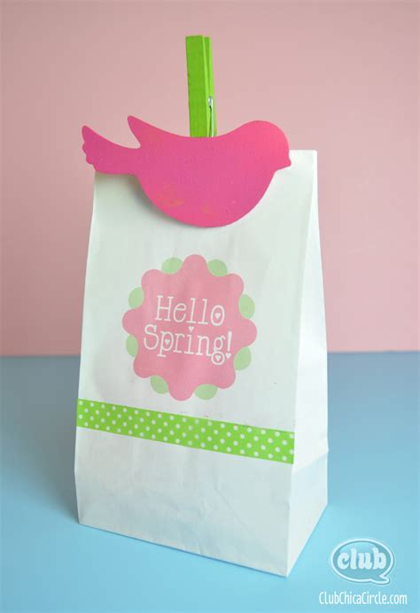 Paper Bag Craft Ideas - paper bag crafts easter paper bag printing ideas with