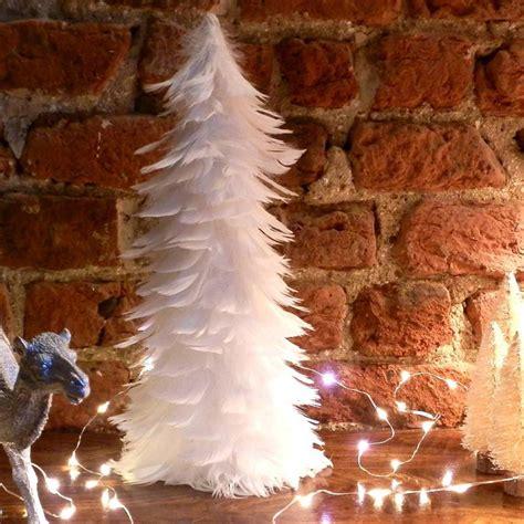 diy feather christmas tree quiet corner