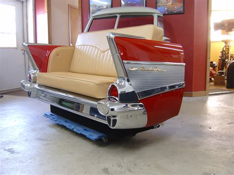 1957 chevy couch new retro cars restored classic car couches sofas and