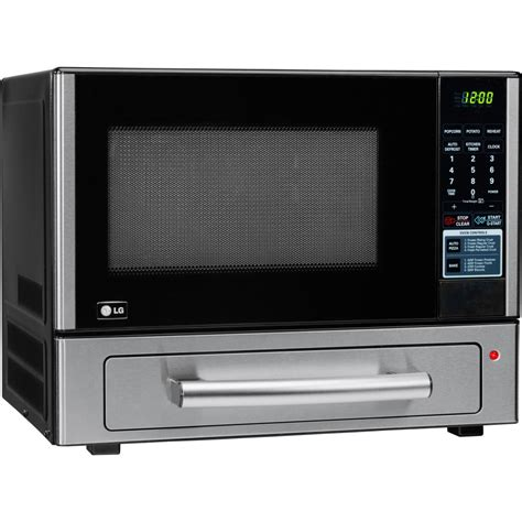 Microwave With Oven Drawer by Lg Lcsp1110st 1 1 Cu Ft Combination Countertop Microwave