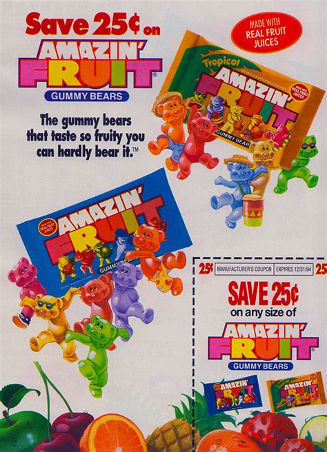 fruit r us amazin fruits gummy bears is strawberry a fruit