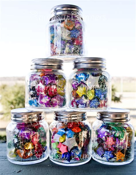 Origami Lucky Jar - wish jars lucky origami large by