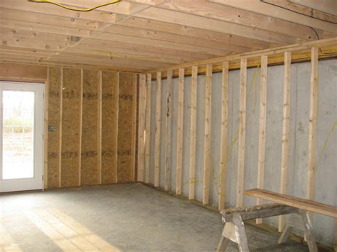 Walkout Framing Basement Walls   Basement Framing