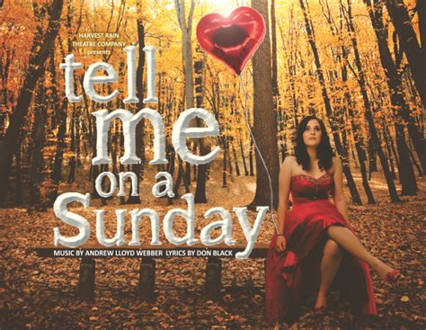 tell me on a sunday wikipedia tell me on a sunday xs entertainment