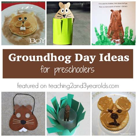 groundhog day supplies groundhog day math activities for preschoolers groundhog