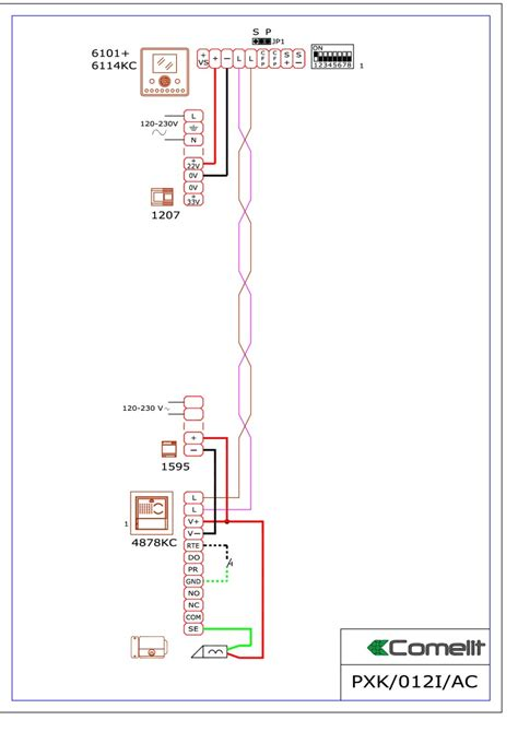 comelit handset wiring diagram micro usb cable wiring