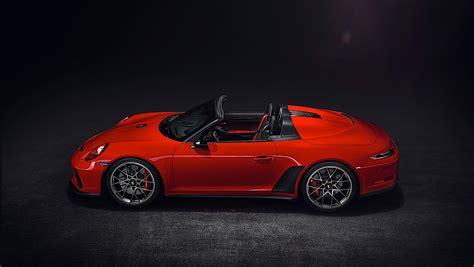 2020 Porsche Speedster 2020 porsche 911 speedster priced at 274 500 in the u s