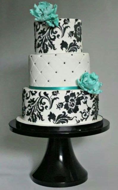 Beautiful Diy Home Decor by Picture Of Tiffany Blue Wedding Cake Ideas 12