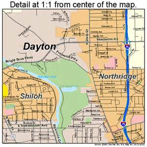 dayton ohio map pictures to pin on pinsdaddy