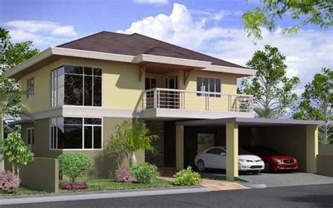 two storied house plans two storey house designs