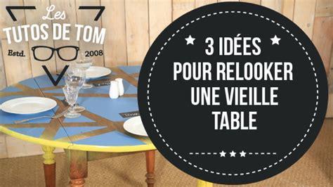 Relooker Une Table Ronde by Diy 3 Id 233 Es Pour Relooker Une Vieille Table Sur