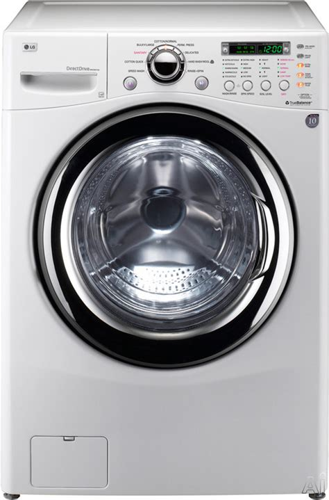 lg wm3987hw 27 quot front load washer dryer combo with 4 2 cu