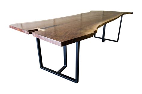 black walnut live edge table live edge side table modern black walnut live edge dining