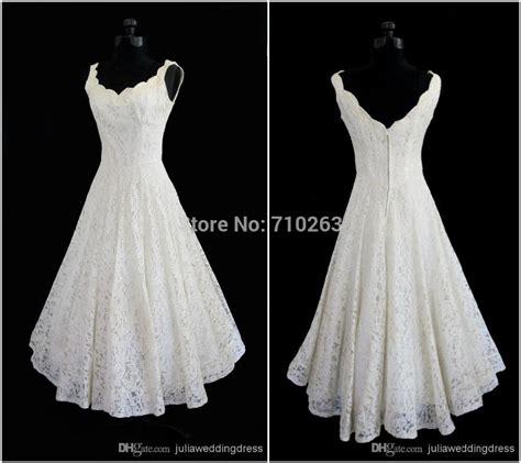 simple tea length wedding dresses plus size 2015 new simple scoop neck a line tea length