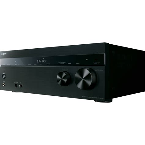 sony av receiver sony str dh750 7 2 channel av receiver strdh750 b h photo