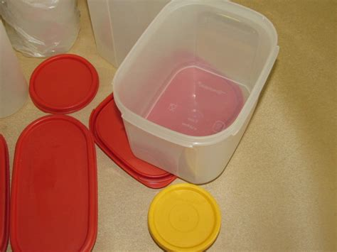 limited item tupperware assorted container lot detail large assortment of storage containers