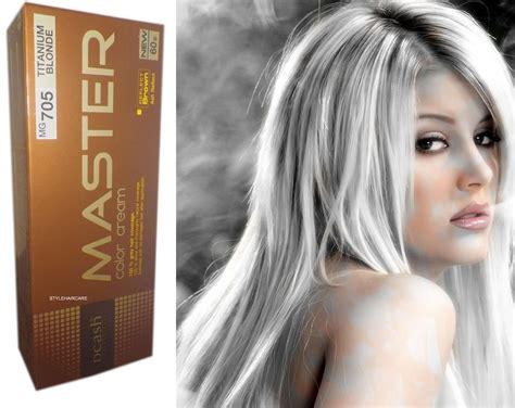 Felice Hair Colour 0 00 White hair color permanent hair dye light grey pearl white reflect