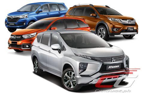 mitsubishi xpander  honda mobilio  honda br   toyota avanza philippine car news