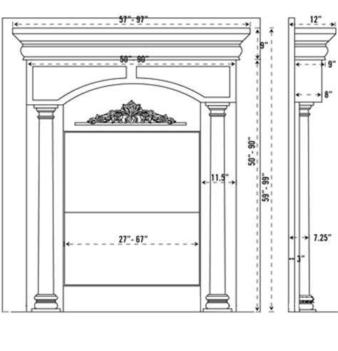 standard fireplace mantel height standard height for fireplace mantel mapo house and