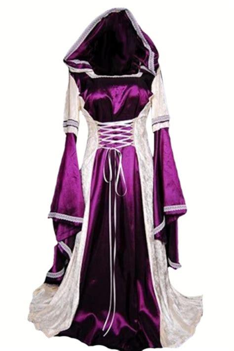 Costume Sleep Wear Import T1310 3 purple renaissance dress costume