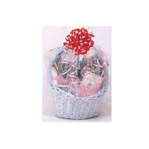 gift plastic wrap basket shrink wrap plastic catering supplies
